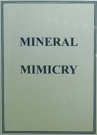 Mineral Mimicry