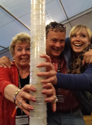 Dona, Ian and Diana