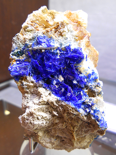 Linarite specimen from the Red Gill Mine, Caldbeck Fells, Cumbria, England for sale