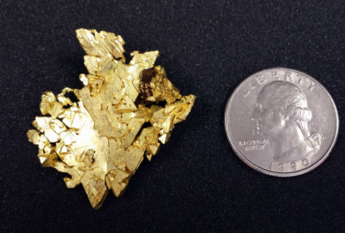 Native Gold from El Dorado Co., California