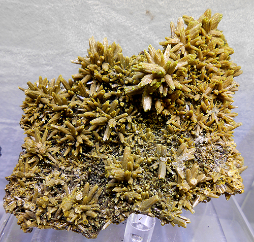 Pyromorphite from Les Farges, France.