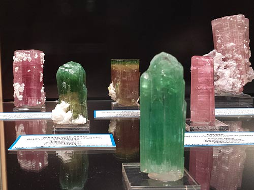 Tourmalines from the collection of Marty Zinn