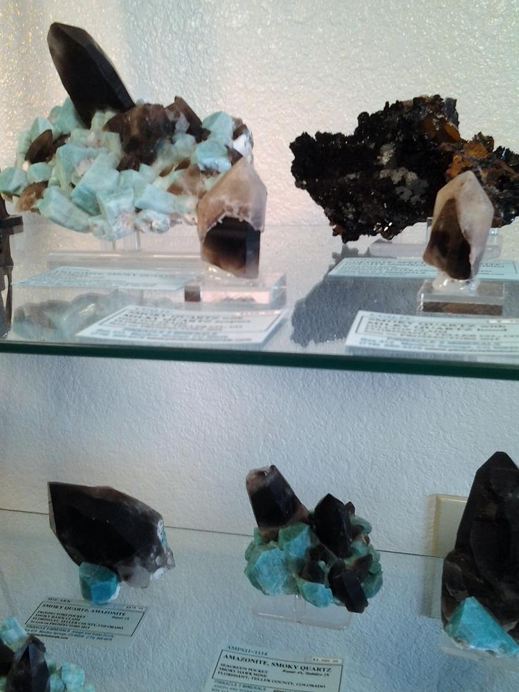 More Amazonite and Smoky Quartz specimens from Smoky Hawk Claim, Teller Co., Colorado, USA