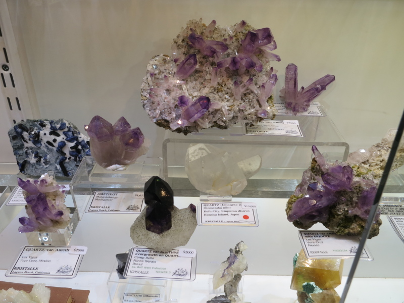 A selection of Amethyst, most from Vera Cruz, Mexico