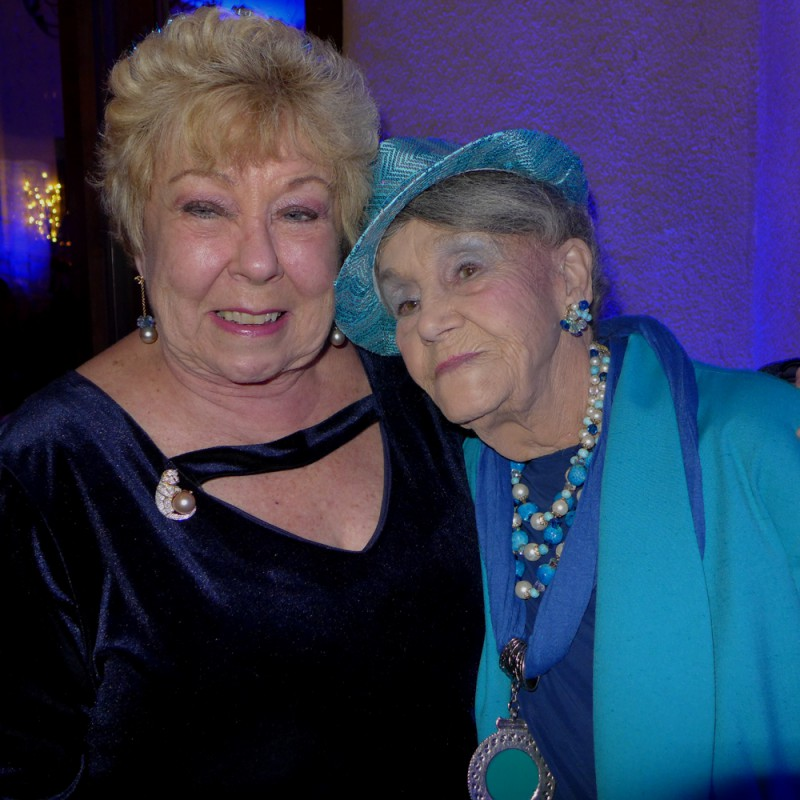 Dona with one of the most special ladies in the mineral world: Jean Smith