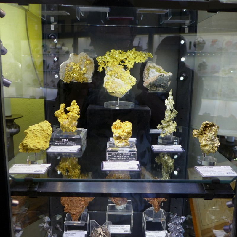 Kristalle golds