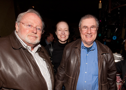 Bill Pinch, Susan and Mark Feinglos (photo courtesy Mark Mauthner)
