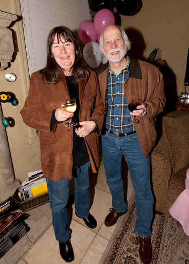 Sharon Fitzgerald and Peter Leavens (photo courtesy of Mark Mauthner)