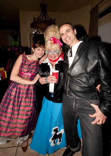 Agata Leszczuk, Dona and Mark Mauthner (photo courtesy of Mark Mauthner)