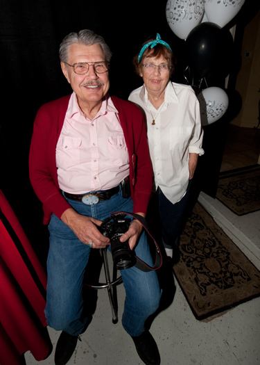 Al and Sue Liebetrau (photo courtesy of Mark Mauthner)