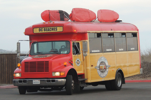 The Crystal Cove bus
