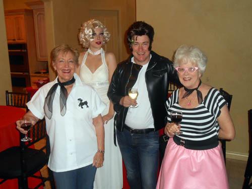 Robbie McCarty, Diana, Ian and Audrey