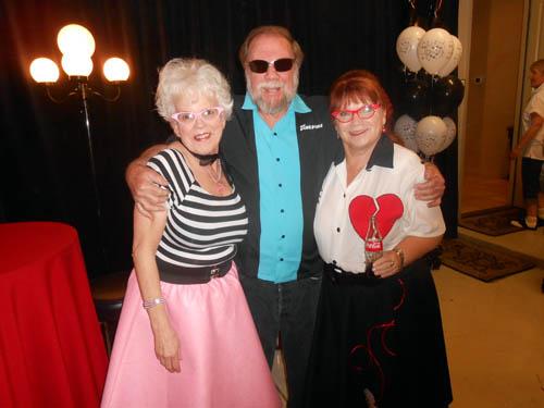Wayne Leicht with Audrey Lloyd and Tana Daugharthy