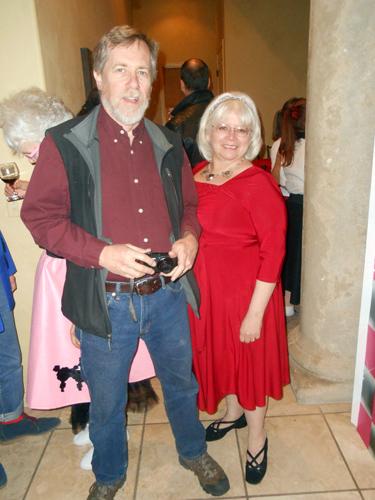 Jesse Fisher and JoanKureczka