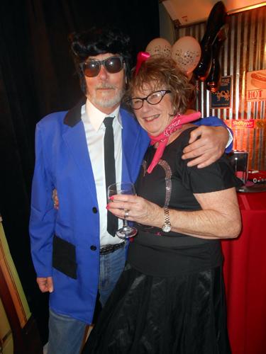 Ian Jones and Liz