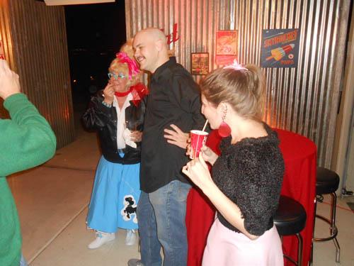 Dona Leicht with Justin and Brandy Zzyzx