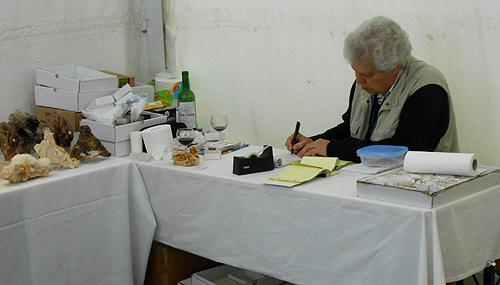 "Luiz at his ""office"""