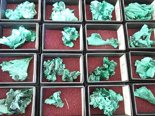 Malachite from DR Congo