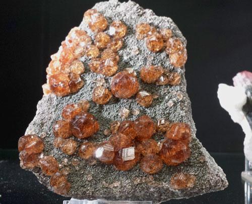 Grossular Garnet from Jeffrey Mine, Asbestos, Quebec, Canada.