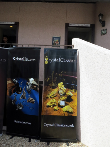 Entrance to the Kristalle and Crystal Classics room 235