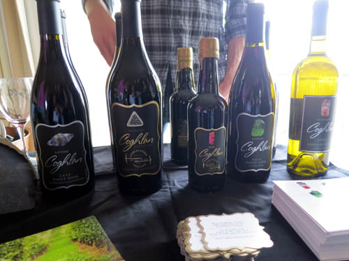 Coghlan Wines featuring the mineral labels.