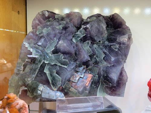 Fluorite from Shangbao, China