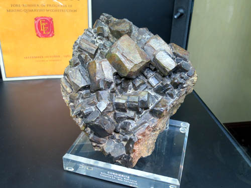 A large specimen of Cordierite from Richmond Quarry, New Hampshire
