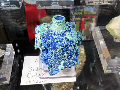 Azurite from Bisbee, Arizona