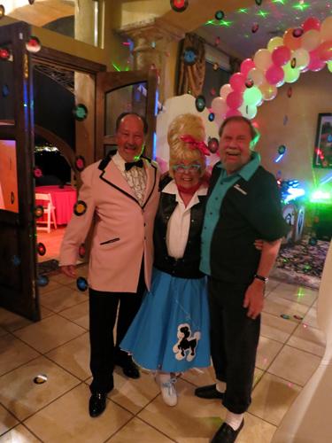 Kirby Siber with Dona and Wayne Leicht