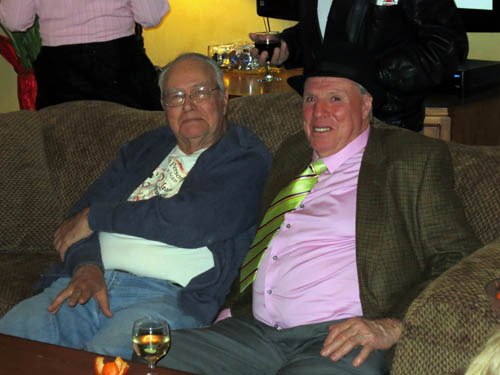 Dick Thommsen of Dickthommsenite fame with Allen Arnold