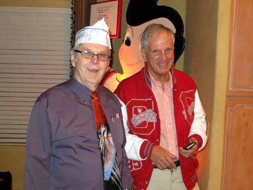 Jim Blees and John Lucking