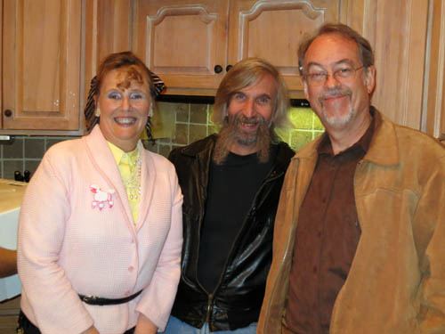 Jaye and her husband Bill Lawrence and renowned mineral photographer Jeff Scovil