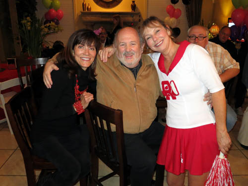 Lois Nelson with Marshall and Charlotte Sussman