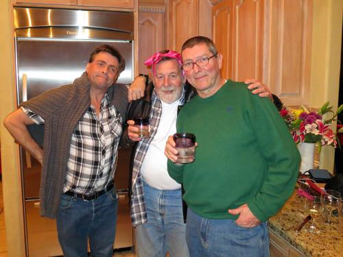 Dave Whipp, Dave Lloyd and German dealer Gunther Hoppe