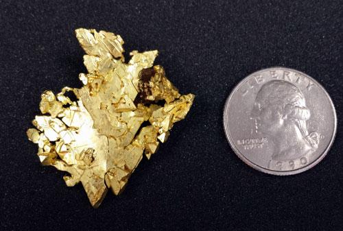 Native Gold from El Dorado Co., California