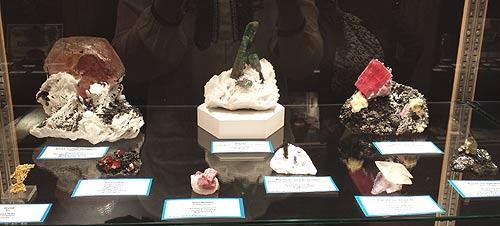 Richard and Safaa Jackson's gem minerals