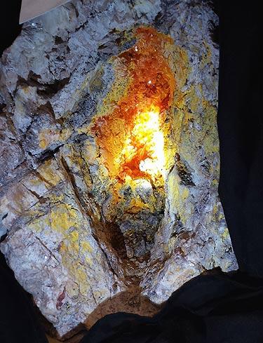 Wulfenite from Rowley Mine, Arizona