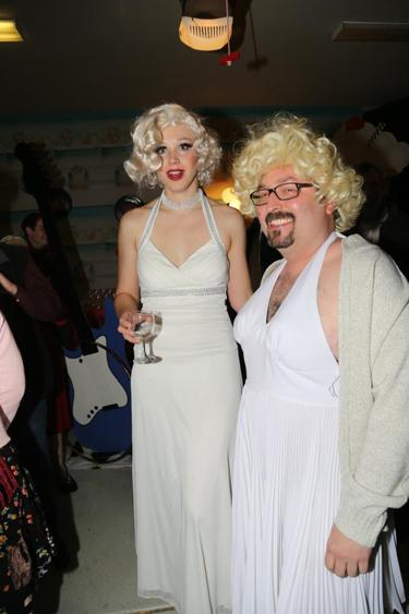 German Marilyn and Polish Marilyn (photo courtesy of Joylon Ralph)