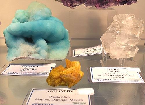 Legrandite from theOjuela Mine, Mapimí, Durango, Mexico.
