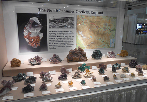North Pennines Orefield Fluorites from Jesse Fisher and Joan Kureczka