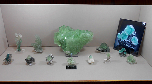 A selection of fine Fluorite specimens from China.