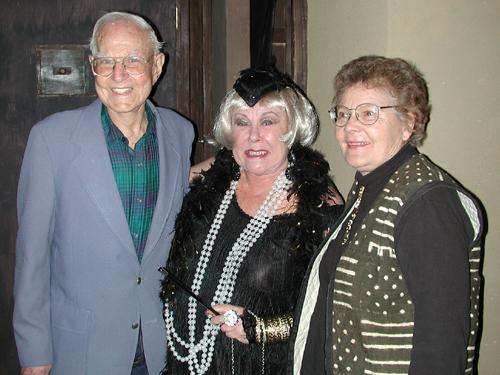 Jack Halpern, Dona Leicht and Carolyn Manchester.