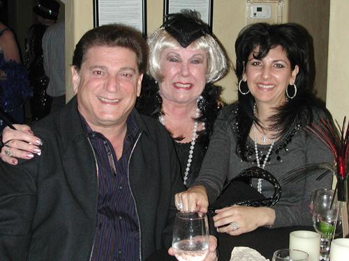 Randy and Susan Parnagian with Dona