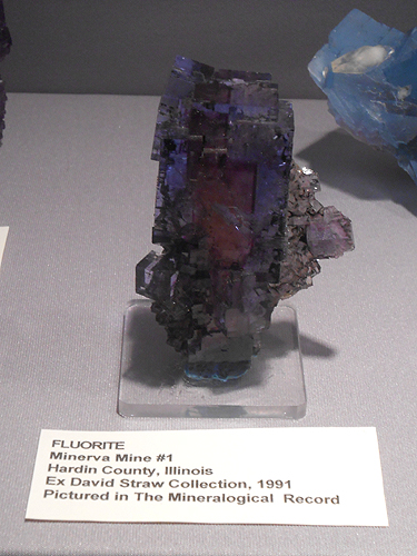 A superb colour zoned and quite gemmy Fluorite from Illinois, USA.
