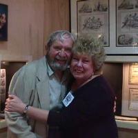 Dona Leicht with John Sinkankas