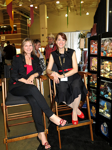 Lois Nelson and Robin Hansen
