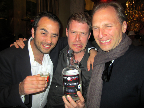 Is it fear before or after a shot of the Moonshine - Dan Ravasz, Christoph Keilmann and Jens Rödel.