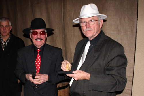 Doug Wallace and Leonard Himes.
