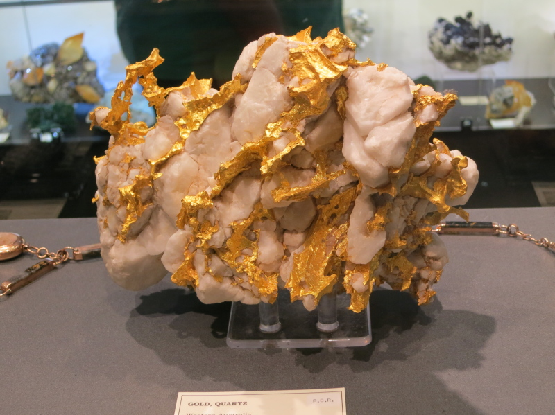 Native Gold in Quartz from Western Australia, 176 Ounces Troy