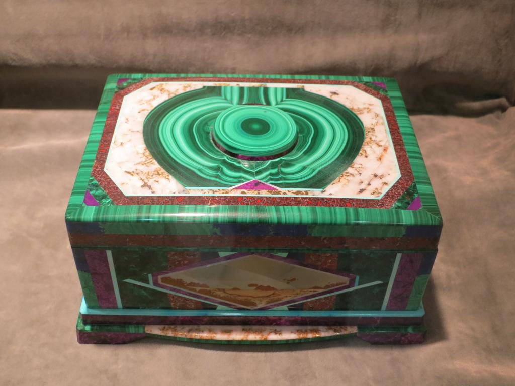 Inlaid box by Nicolai Medvedev